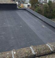 Plat dak isoleren en waterdichten